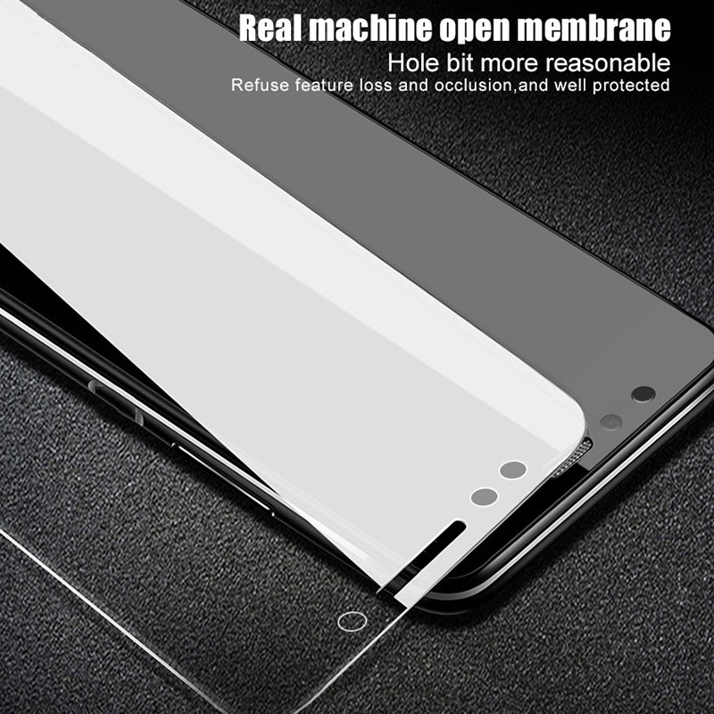 KISSCASE Transparent Glass Film For Samsung Galaxy A3 A5 A7 2017 Tempered Glass For Samsung A6 A8 Plus 2018 Screen Protector in Phone Screen Protectors from Cellphones Telecommunications