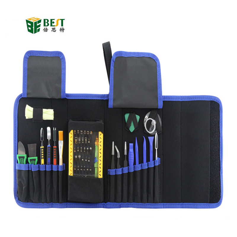 BEST BST-119 64 in 1 Magnetic Precisions Screwdriver Set Disassemble Repair Laptop Mobile Phone Tool Set with Tweezers