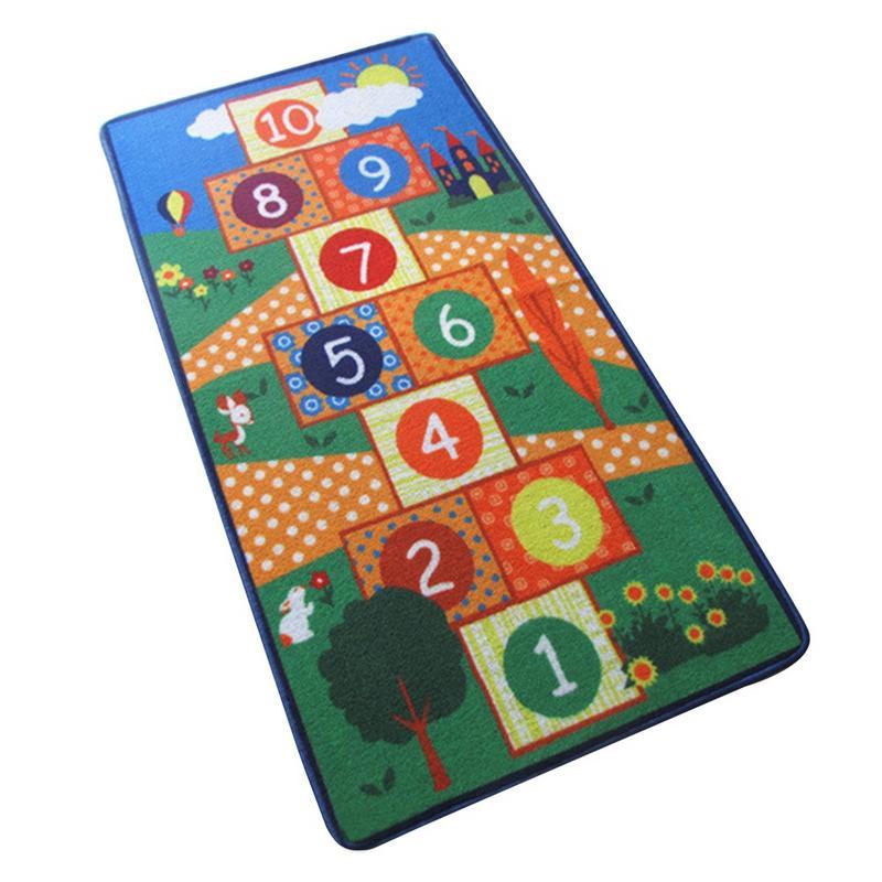 Tapis pour enfants tapis de développement Eva mousse bébé tapis de jeu jouets pour enfants tapis antidérapant marelle saut treillis pour chambre d'enfants