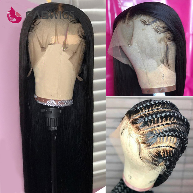 Pre Plucked Full Lace Human Hair Wigs with Baby Hair Glueless Full Lace Wig Human Hair Malaysian Straight Wigs For Women Remy 1