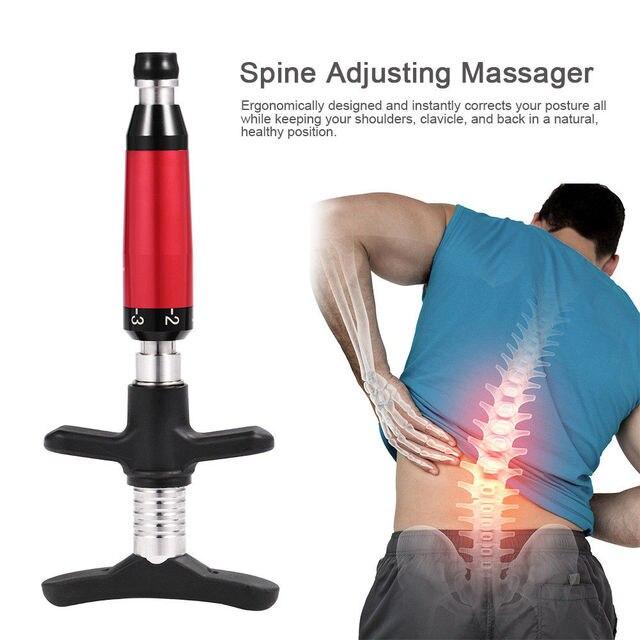 Melhor 6 níveis manual instrumento quiropraxia coluna activative volta quiropractic instrumento de ajuste