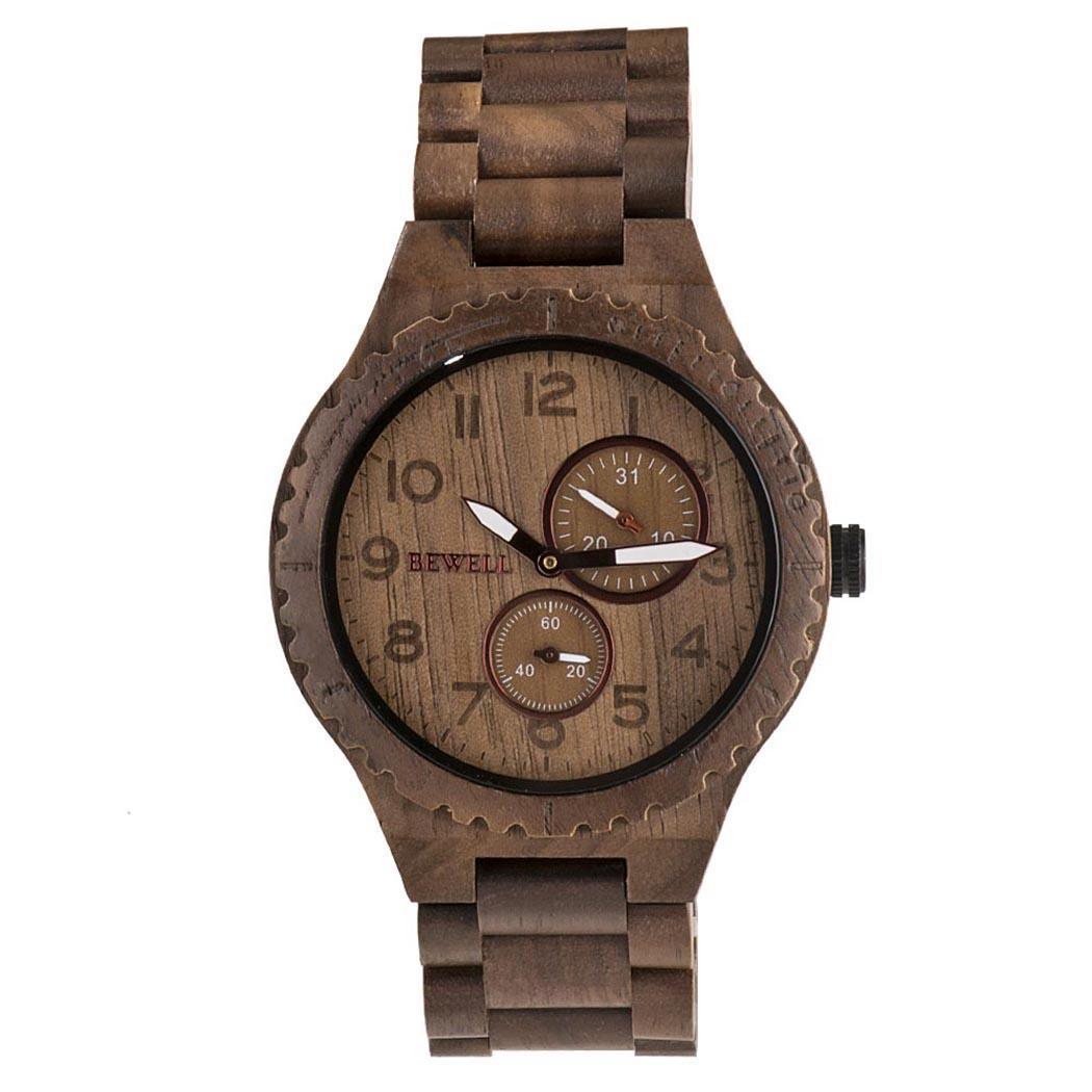 Men Fashion Wood Band Round Analog Pointer Quartz Easy To Read Wrist Complete Schedule Watch Bracelet BangleMen Fashion Wood Band Round Analog Pointer Quartz Easy To Read Wrist Complete Schedule Watch Bracelet Bangle