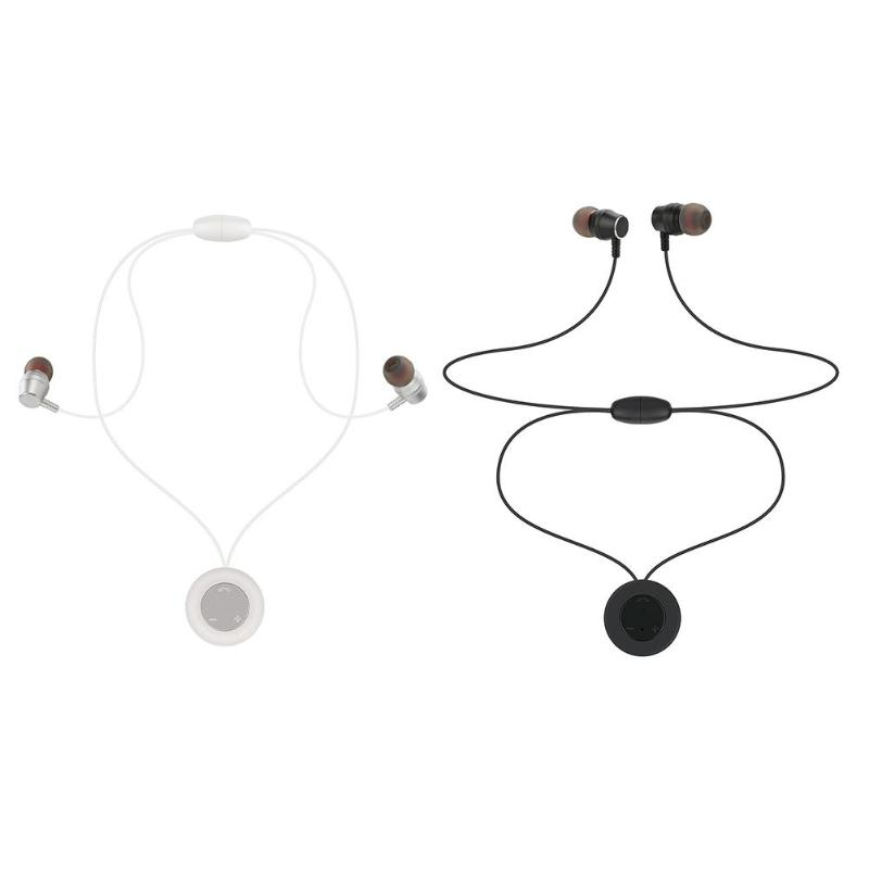 AX-11 Sports Bluetooth Headset Necklace Headphone Stereo Magnetic Earphone