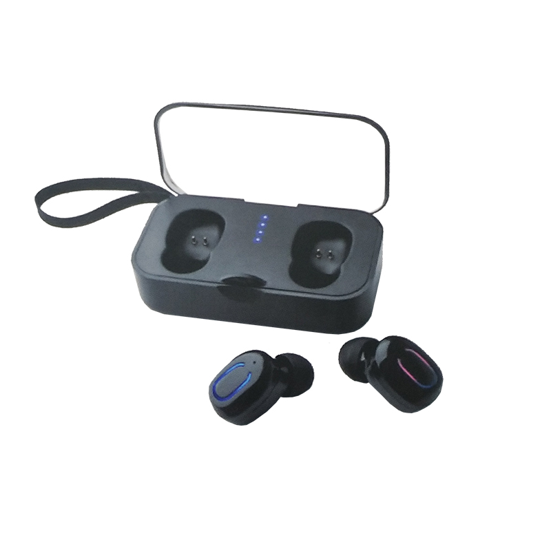 T18S Mini Tws Wireless Bluetooth Earphone Bluetooth 5.0 Stereo In-Ear Sports Earbuds Wireless Headset With Charging Box