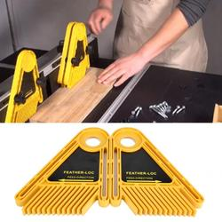 Multipurpose Feather Loc Board Set Double Featherboards For Trimmer Router Table Saw Wood Router Laser Engraver