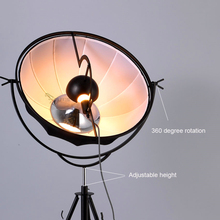 Nordic LED Floor Lamps Classic Loft Light Atangding Lights Adjustable Satellite Shape Photo Studio Living Room Lamp Stand