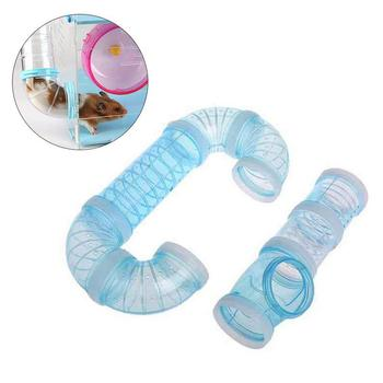 DIY U-type Plastic Pipe Line Tube Training Playing Connected External Tunnel Toys for Small Animal Hamster Cage Product Supplies 5