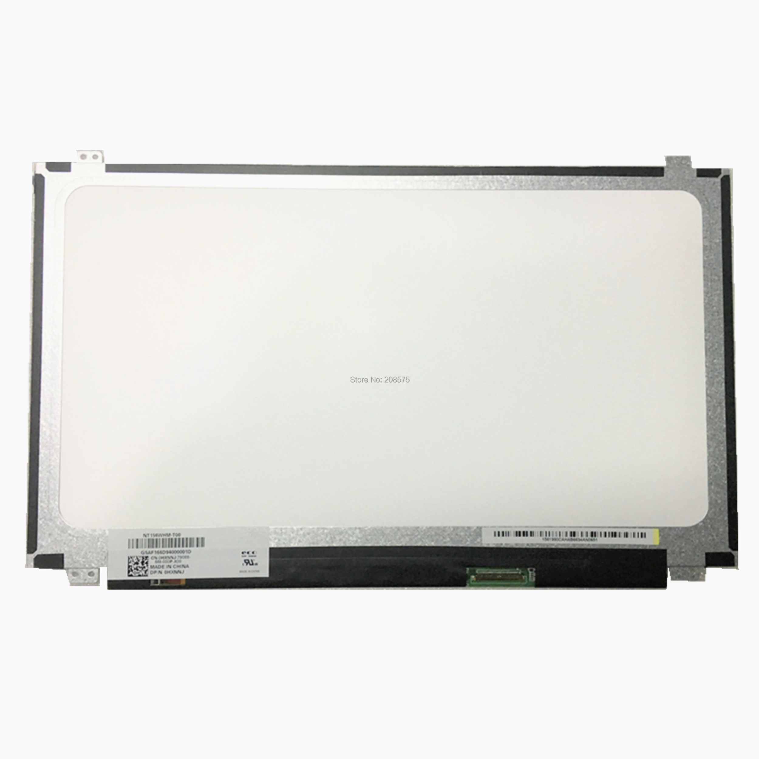 Free Shipping NT156WHM-T00 B156XTK01.0 LCD Screen Panel Touch Display For Dell Inspiron 15 5558 Vostro 15 3558 JJ45K EDP 40 Pins