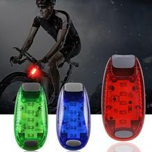 Профессиональный Яркий светодиодный велосипедный велосипед задний фонарь лампа для бега Предупреждение ющий аксессуар