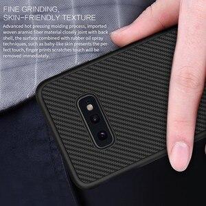 Image 4 - Fibre synthétique Nillkin pour Samsung S10e coque en fibre de carbone PP coque arrière en plastique pour Samsung Galaxy S10e coque luxe 5.8