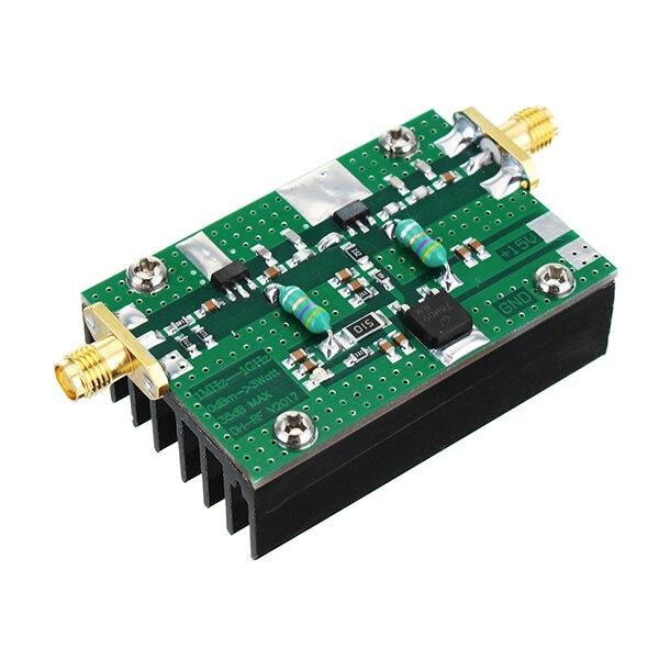 New 1MHz 1000MHZ 35DB 3W HF VHF UHF FM Transmitter Finish Board RF Power Amplifier For Ham Radio Linear Power Integrated