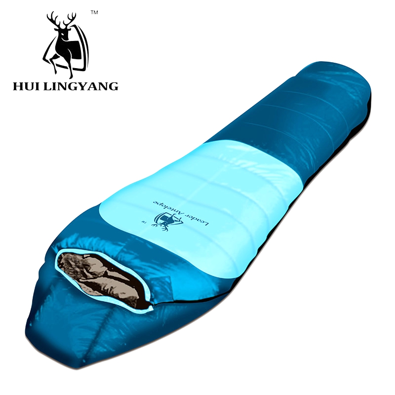 Adult Duck Down Sleeping Bag Camping Mummy Type Hiking Wither Sleeping Bag 800g Filling WaterproofAdult Duck Down Sleeping Bag Camping Mummy Type Hiking Wither Sleeping Bag 800g Filling Waterproof