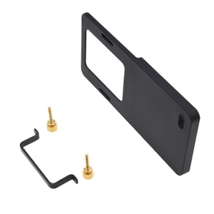 Image 1 - Piastra di montaggio Adattatore Per Macchina Fotografica di Sport di Dimensioni Smartphone Handheld Gimbal Stabilizzatore Allo Stesso Modo Accessori