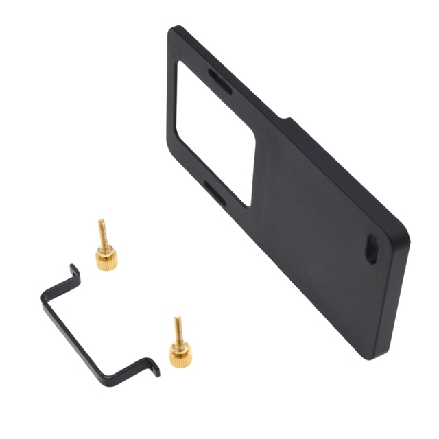 Piastra di montaggio Adattatore Per Macchina Fotografica di Sport di Dimensioni Smartphone Handheld Gimbal Stabilizzatore Allo Stesso Modo Accessori