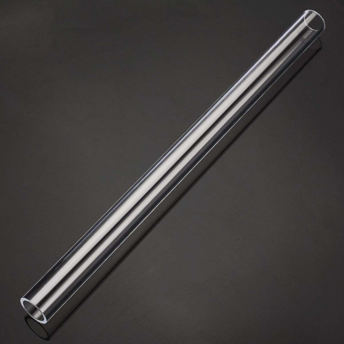 1pc 200mm Length Clear Acrylic Plexiglass Lucite Tube 100mm OD 95mm ID Diameter