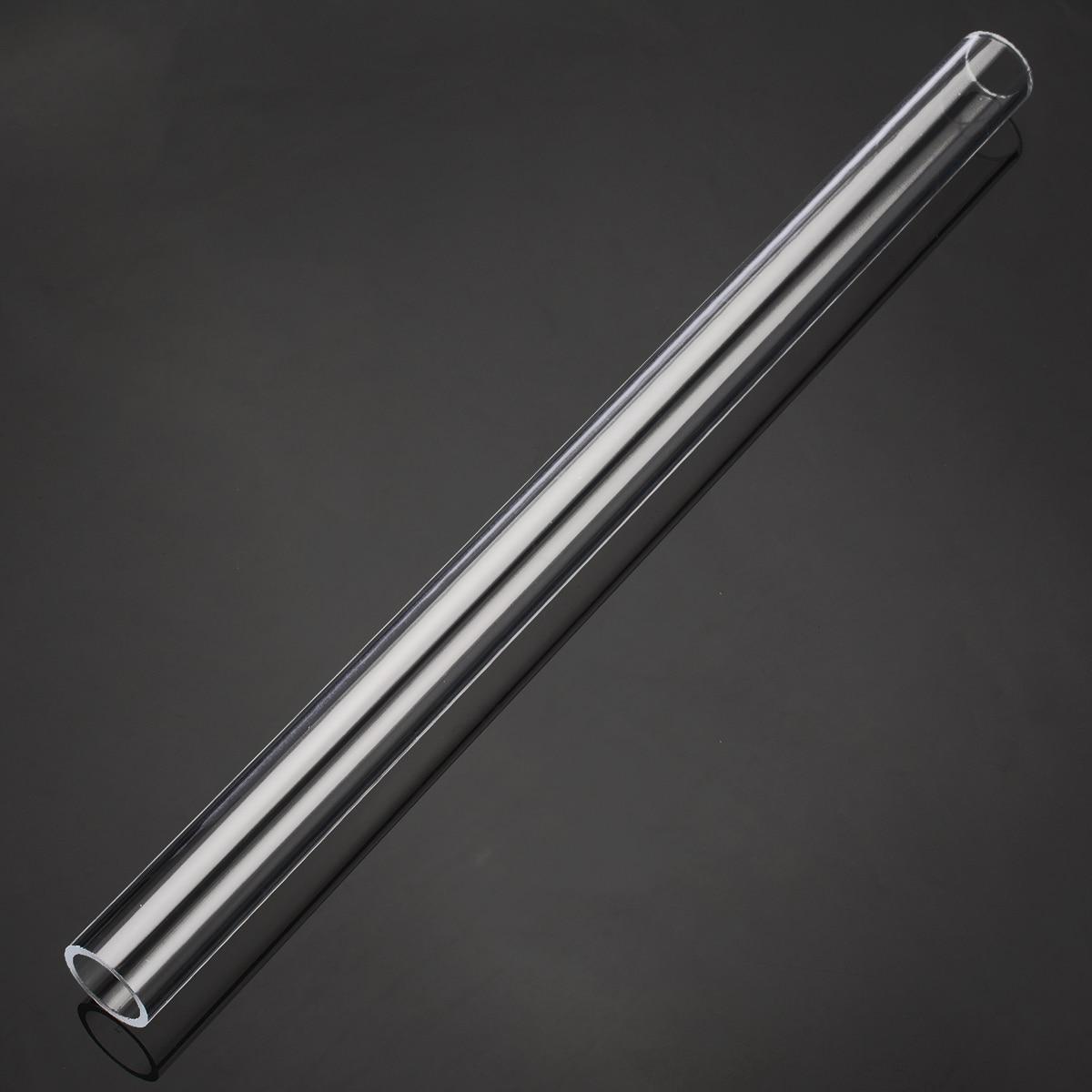 Прозрачная акриловая труба из акрилового плексигласа люцитовая трубка 20 мм OD 16 мм ID для инструментов длиной 300 мм