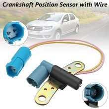 Manivela com sensor de posição de carro, equipamento de manivela com sensor para renault clio laguna space megane scenic thalia 7700101970, 8200468645