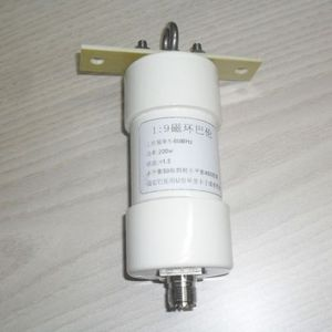 Image 1 - 1:9 Balun 200Wคลื่นสั้นBalun HAMยาวHFเสาอากาศRTL SDR 1 56MHz 50 OHM TO 450 โอห์มNOX 150 แม่เหล็ก