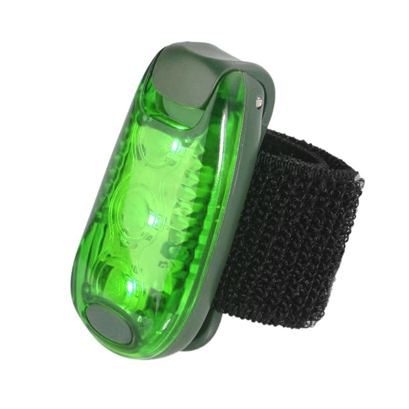 Multi-function LED Safety Light Clip Running Light Jogging Riding Reflective Equipment Night Warning Light