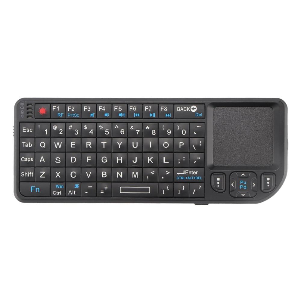 Valiente Fornorm Nueva Promoción Mini 2,4g Teclado Inalámbrico Touchpad Backlight Para Smart Tv Samsung Lg Panasonic Toshiba