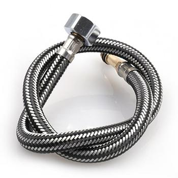Stainless Steel 60CM Shower Hose Flexible Shower Braided Toilet Hose Bathroom Water Head Showerhead Pipe Plumbing Hoses lf15313 g1 2 m1 2 304 stainless steel braided faucet water supply flexible hose connector water plumbing hose tube transparent