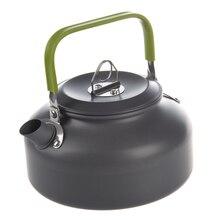 0.8L портативный ультра-светильник, Открытый походный кемпинг, чайник для выживания, чайник, кофейник, анодированный алюминий