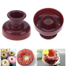 Donut Form Desserts Cookie DIY Donut Maker Mould 3D Handgemachte Cupcake Gelee Cookie Mini Muffin Seife Maker Küche Backen Werkzeug(China)