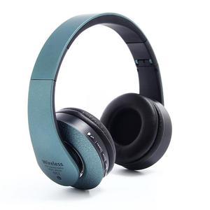 Image 2 - Casque Bluetooth sur loreille casque Hi Fi stéréo sans fil casque pliable souple mémoire protéines cache oreilles intégré micro réduction du bruit