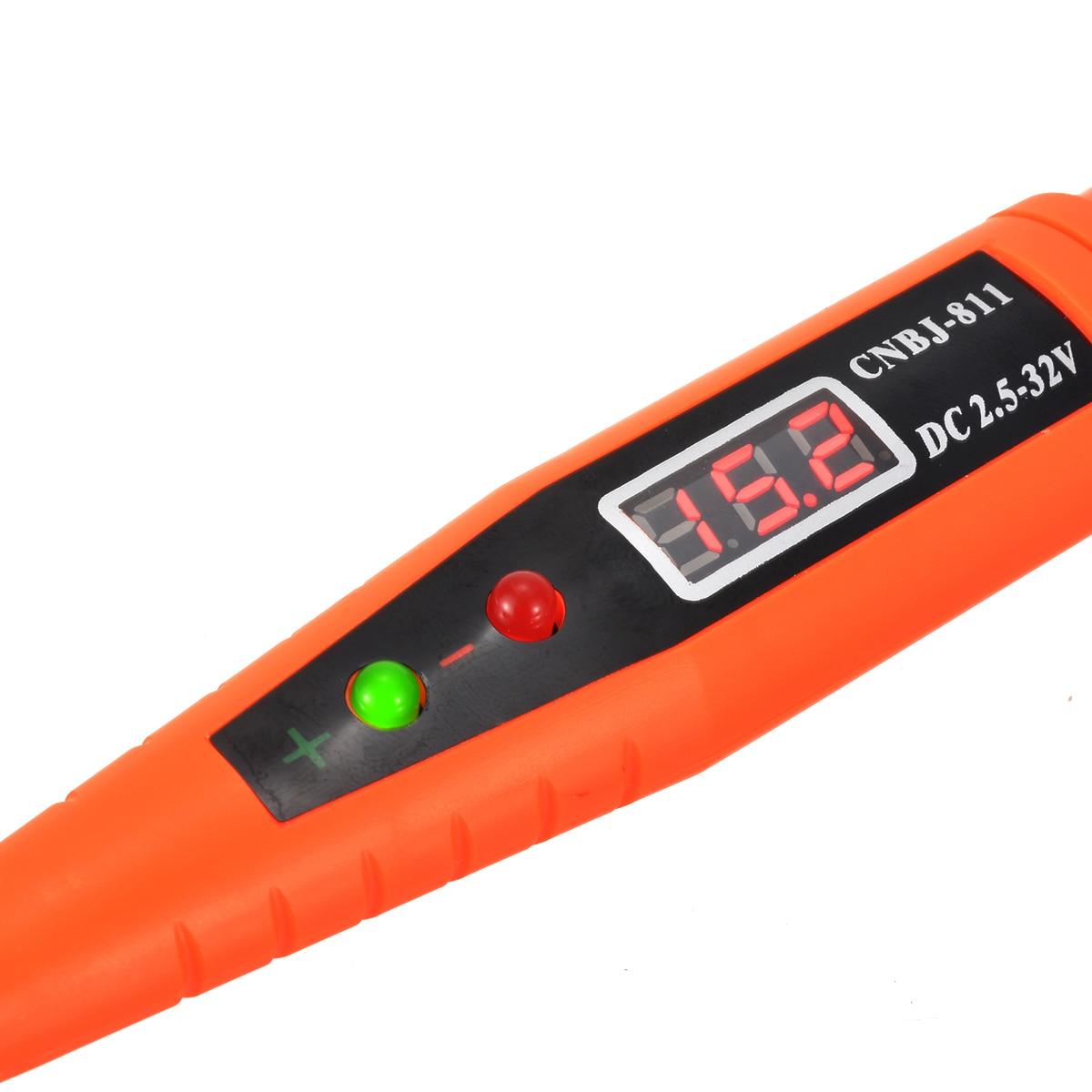 Image 5 - Digital Test Pencil Multi function Digital Display Voltage Tester Test Pen 2.5 32V For Checking Circuits Fuses