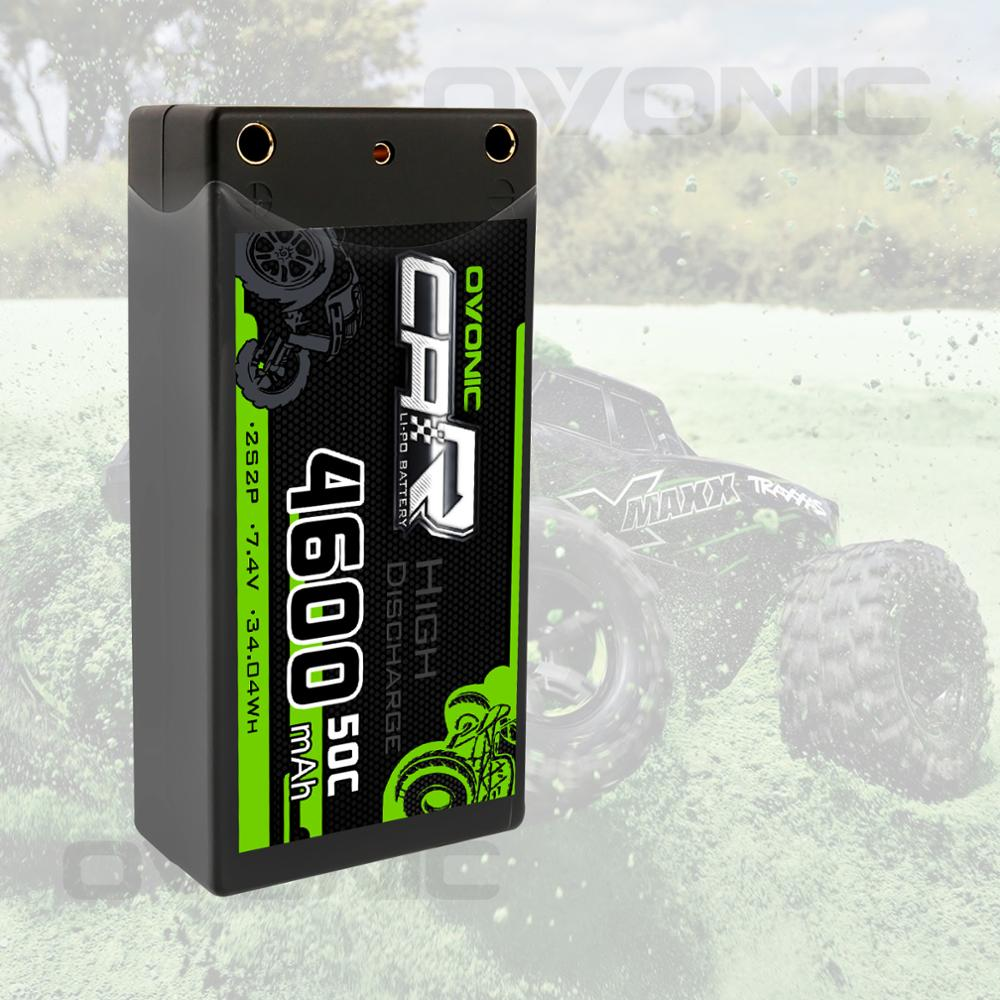 Image 5 - Ovonic 2S Shorty Lipo 7.4V 50C 2300mAh Hardcase Lipo Battery with 4mm Bullet Deans Ultra Plug Connector for RC 1/10 Scale Vehicl-in Parts & Accessories from Toys & Hobbies