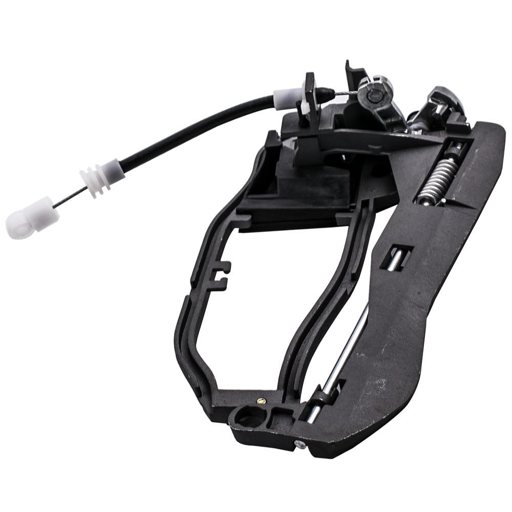 2pcs Front Left+Right Door Handle Carrier For BMW X5 E53 51218243615 51218243616 Automotive
