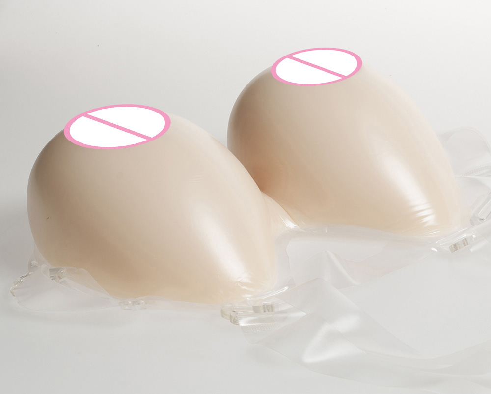 Cup F Artificial Silicone Fake Breast Form Crossdress Silicone Breast Forms Fake Boobs Transvestism Dressed As