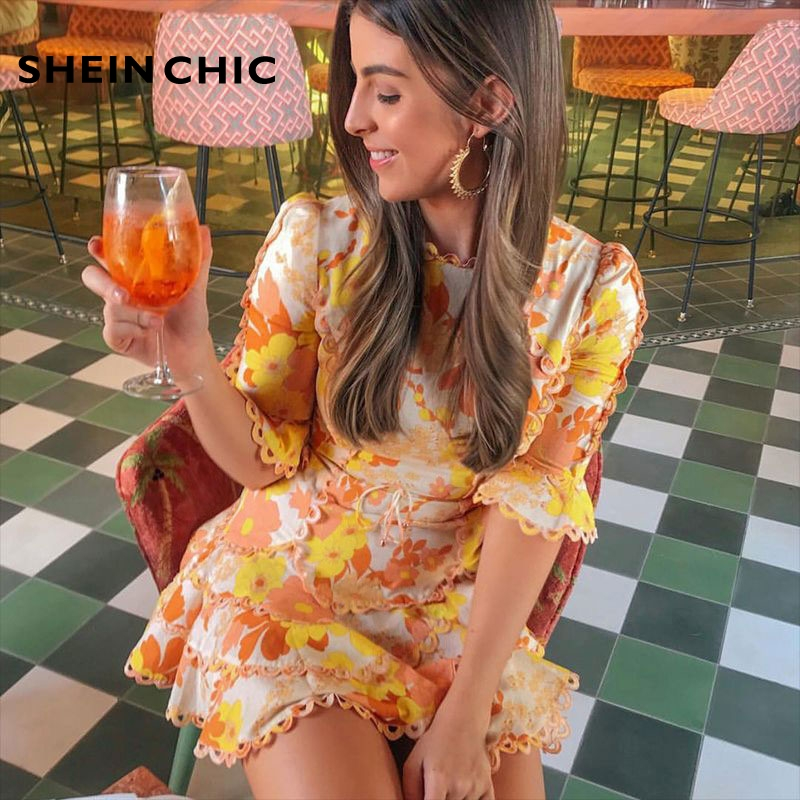 ad2ecf64b7 Vacances-Boho-Chic-t-robe-2019-femmes -l-gant-volants-jaune-Floral-imprim-a-ligne-Mini.jpg