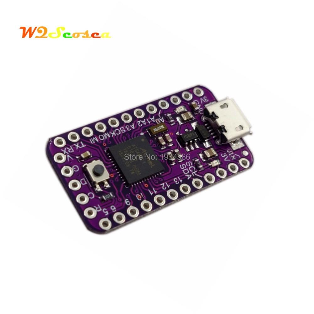 SAMD21 USB M0-Mini Pro Microcontrollers Breakout Board Module Compatible  for Arduino Zero ATSAMD21G18 32-bit 48MHz ARM Cortex M0