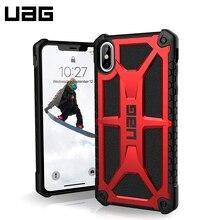 Защитный чехол UAG для iPhone XS Max серия Monarch цвет красный/111101119494/32/4