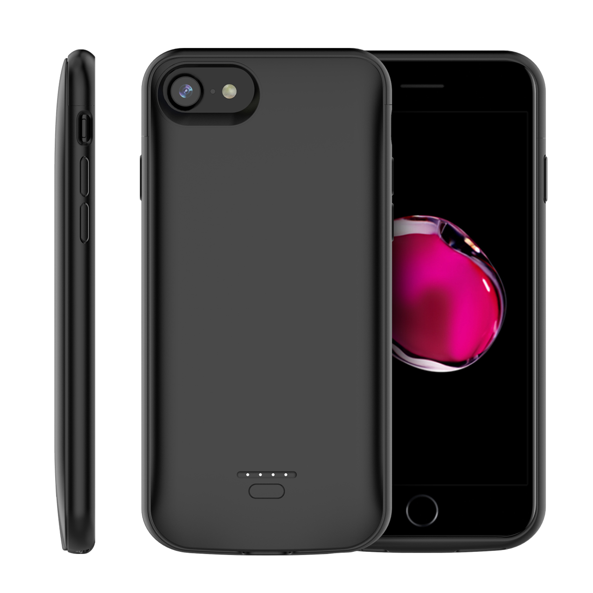 CASEWIN 4000mAh <font><b>Battery</b></font> <font><b>Case</b></font> For <font><b>iPhone</b></font> 7 8 6 6S 5 <font><b>5S</b></font> SE Charger <font><b>Case</b></font> External Backup PowerBank Charging <font><b>Case</b></font> For <font><b>iPhone</b></font> 7 <font><b>Case</b></font> image