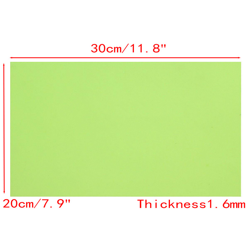 Resin Photopolymer Rubber Stamp Plate Materials Craft Making Printing Polymer Die DIY 30cm * 20cm Light Green Rubber SheetResin Photopolymer Rubber Stamp Plate Materials Craft Making Printing Polymer Die DIY 30cm * 20cm Light Green Rubber Sheet