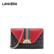 LANVERA Women Clutch Bags High Quality Cross Body Bag Leather Mini Female  Shoulder Bag Handbags Bolsas df12733fc20f