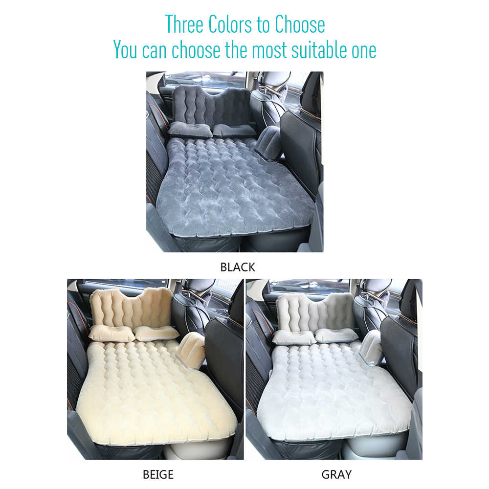 Viagem De carro Colchão Inflável Cama de Ar Almofada de Campismo Portátil Universal para SUV Estender Ar Sofá com Duas Almofadas de Ar