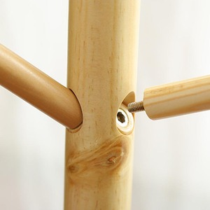 Image 5 - Вешалка из цельной древесины напольная вешалка для пальто, креативная домашняя мебель, вешалка для одежды, деревянная вешалка для сушки спальни