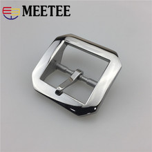 Men Stainless Steel Belt Buckles Metal Pin Buckle For 38-39mm Head DIY Leather Craft Jeans Accessories