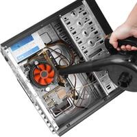EU Plug 750W High Power Electric Air Blower Garden Leaf Blower Computer Keyboard Dust Remover Multi function Fan Vacuum Cleaner