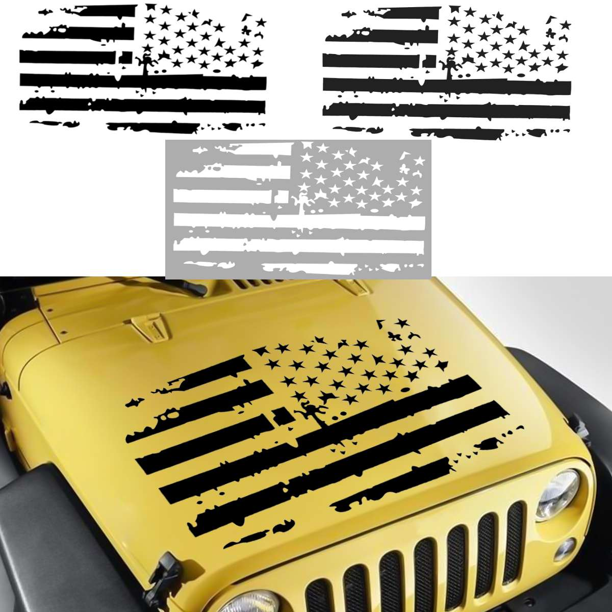 Bullet American Flag Shield Decal sticker Window Decal Truck Car Sticker USA