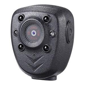Image 1 - HD 1080P الشرطة الجسم التلبيب يرتديها كاميرا فيديو DVR الأشعة تحت الحمراء ليلة ضوء مرئي من الليد كام 4 hour سجل رقمي صغير DV مسجل صوت 1