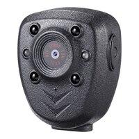 HD 1080P Police Body Lapel Worn Video Camera DVR IR Night Visible LED Light Cam 4 hour Record Digital Mini DV Recorder Voice 1