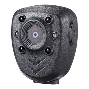 Image 1 - HD 1080P Polizei Körper Revers Getragen Video Kamera DVR IR Nacht Visible LED Licht Cam 4 stunde Rekord digital Mini DV Recorder Stimme 1