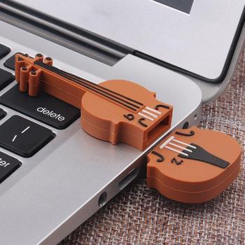 2019 High Quality 16GB Musical Violin Model USB 2.0 Flash Memory Thumb Stick Smart U Disk Dropshipping