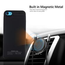 Для iPhone SE 5SE 5 5S чехол для зарядного устройства 4200 мАч Внешний аккумулятор чехол для зарядки со скрытой подставкой для iPhone 5S телефона