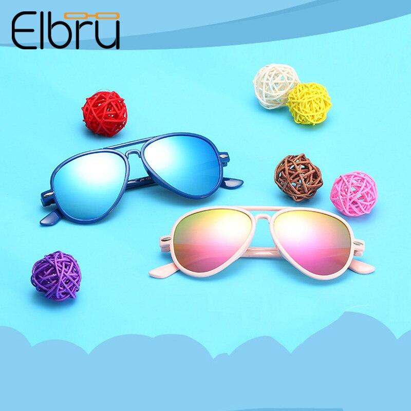 Elbru 2019 Tragen Coole Mode Marke Kinder Kinder Sonnenbrille Baby Brillen Mädchen Jungen Klassischen Retro Nette Pilot Sonnenbrille VerrüCkter Preis