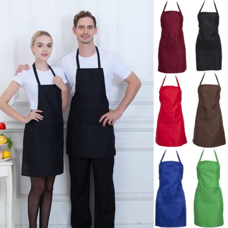 Multifunction Adjustable Kitchen Chef Bib Apron Vest W//Pocket Garden Tool Craft